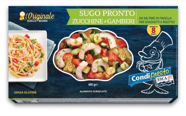 Sugo Pronto Zucchine e Gamberi – i Condipresto ESCA
