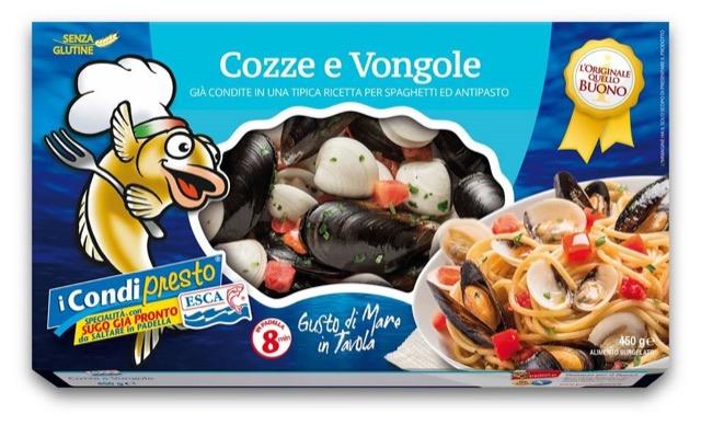 Cozze e Vongole – i Condipresto ESCA